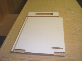 Cabinet Parts In Melamine